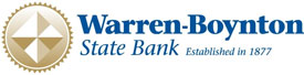 Warren State Bank. Established in 1877.